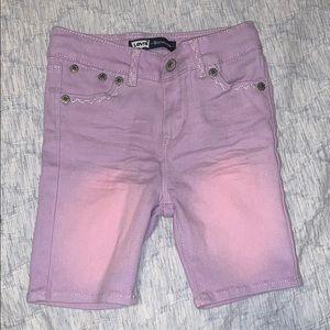 Girls Bermuda jeans